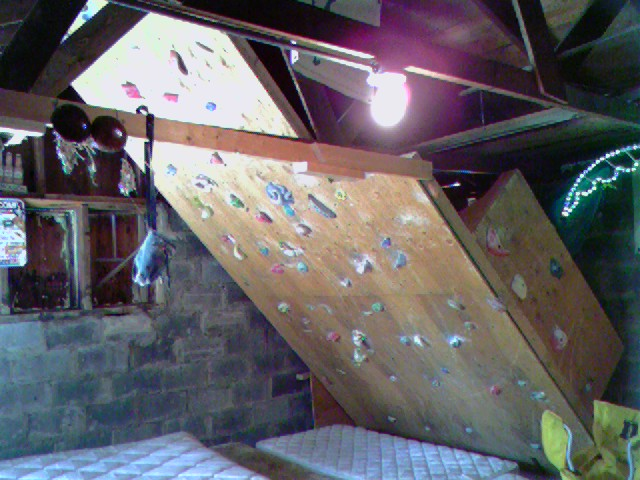 The home climbing wall resource tips tricks and for Home climbing