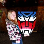 Optimus Prime Climbing Wall Volume
