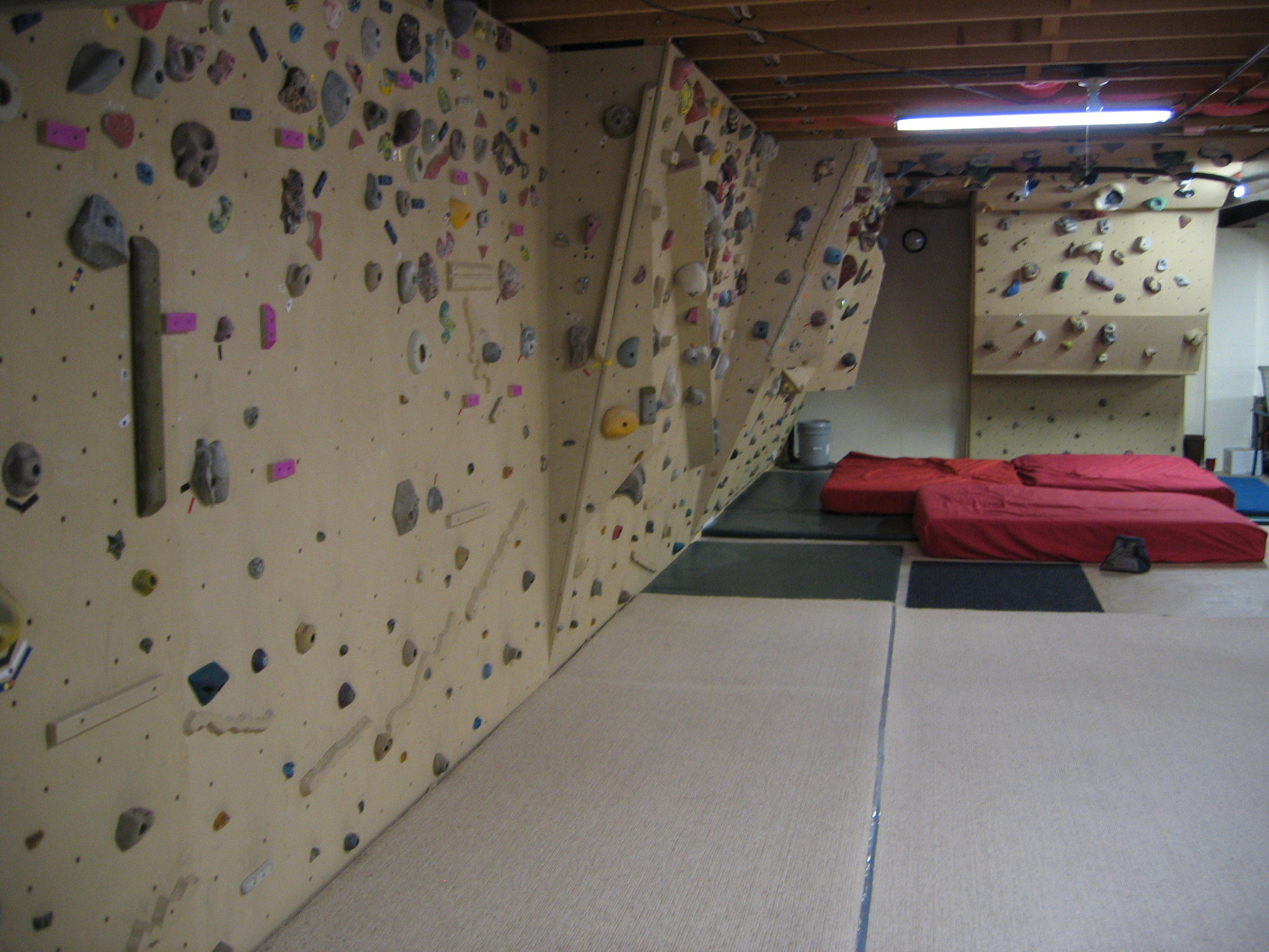 Basement Climbing Wall The Home Resource