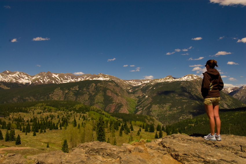 The Accomplice Checking out Molas Pass