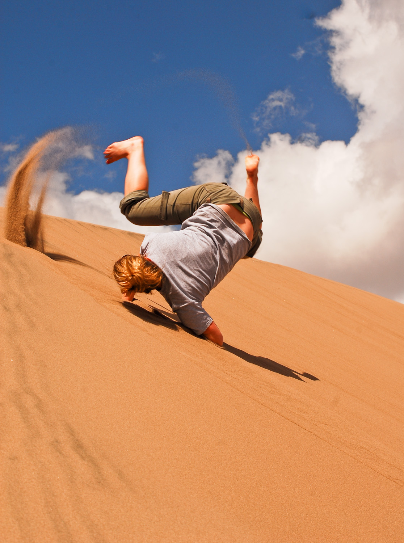 An Epic Adventure - Sandboarding in Denver Colorado!