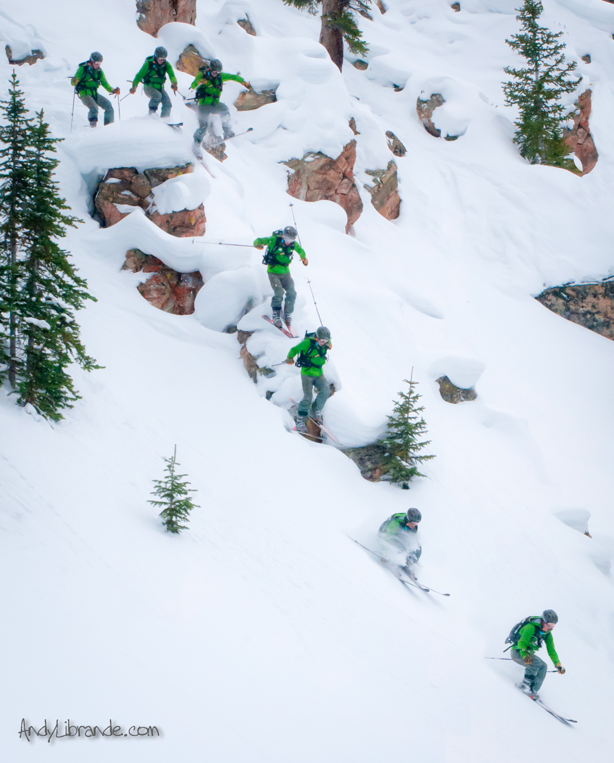 A-Basin Backcountry Pillow Line