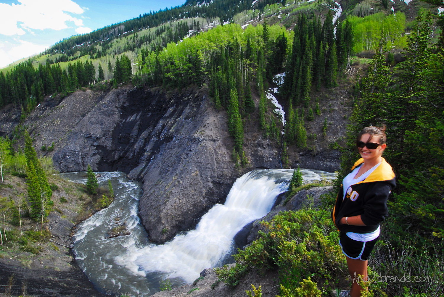 Stupid Falls Crested Butte