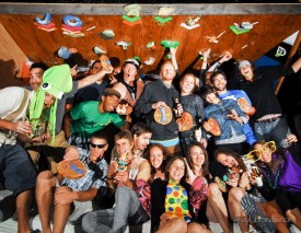 Backyard Bouldering Comp 2011 Group Shot
