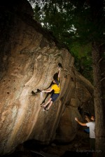 Castlewood Canyon: Double Dick Dyno; Chris Storms