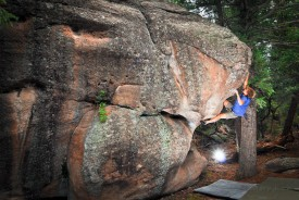 Castlewood Canyon: Nine Lives Boulder; Matt Jurjonas