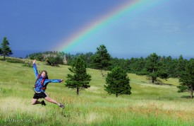 Mt Falcon Moments After a Freak Storm