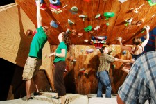 Climbing Wall Addition Means Plenty of Climbers