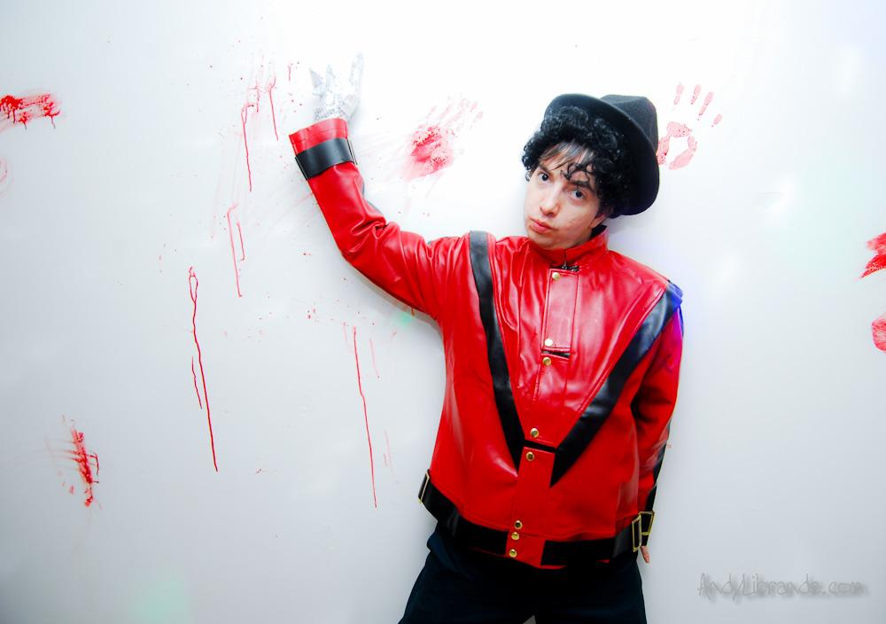 Micheal Jackson Halloween Bloody