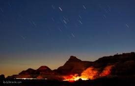 Campsite in Moab Utah