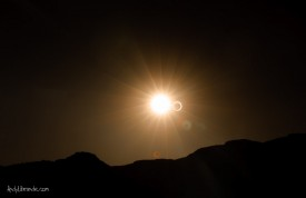 Annular Eclipse at Lake Powell May 20th, 2012