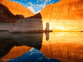 Lake Powell Reflections on the Water