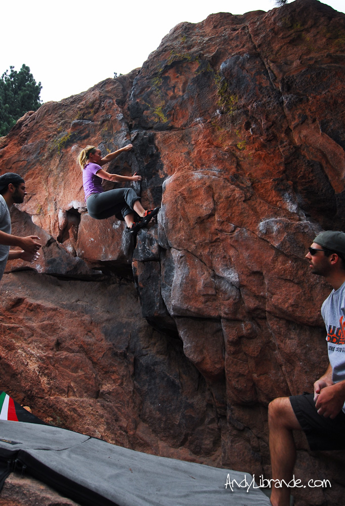 Mt. Sanitas Bouldering