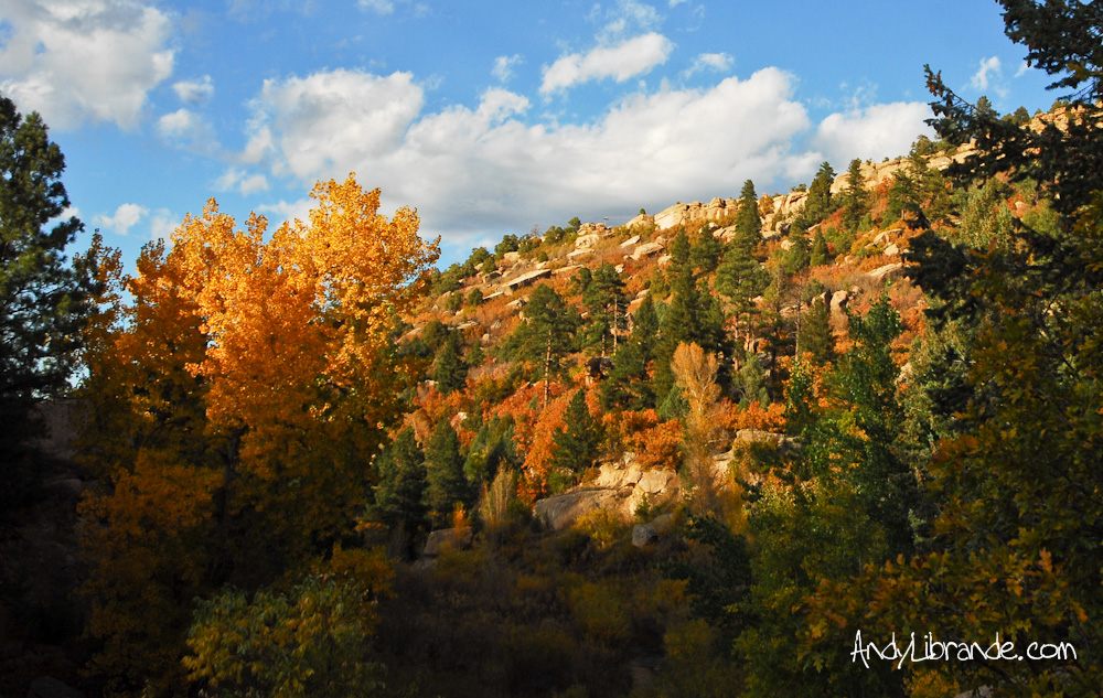 Castlewood Canyon Fall Colors