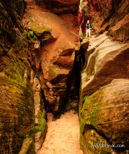 Hidden Canyon hike Zion National Park