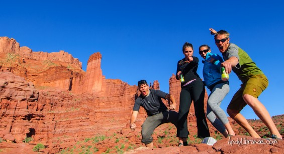 Ancient Art Rock Climb Moab Utah