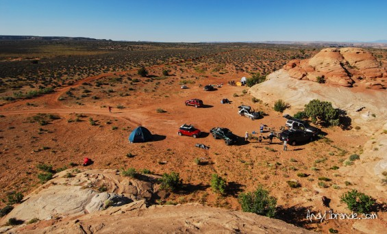 North of Canyonlands Free Camping