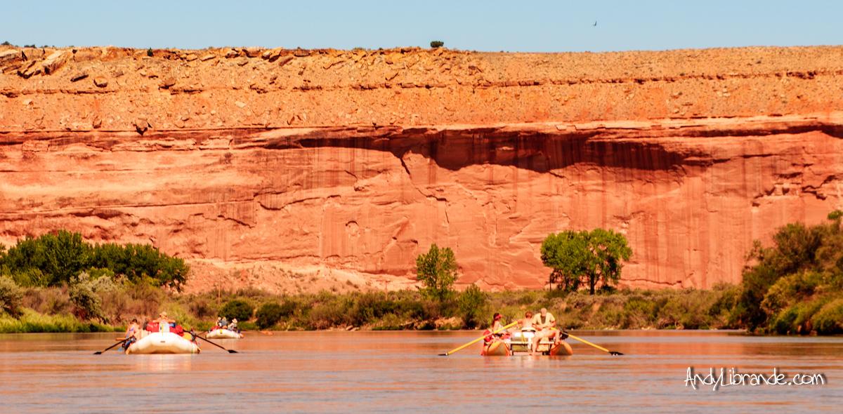 Nearing the Utah border on the Colorado River