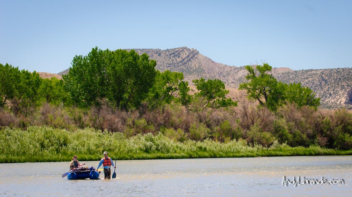Low Water Colorado River Summer 2012