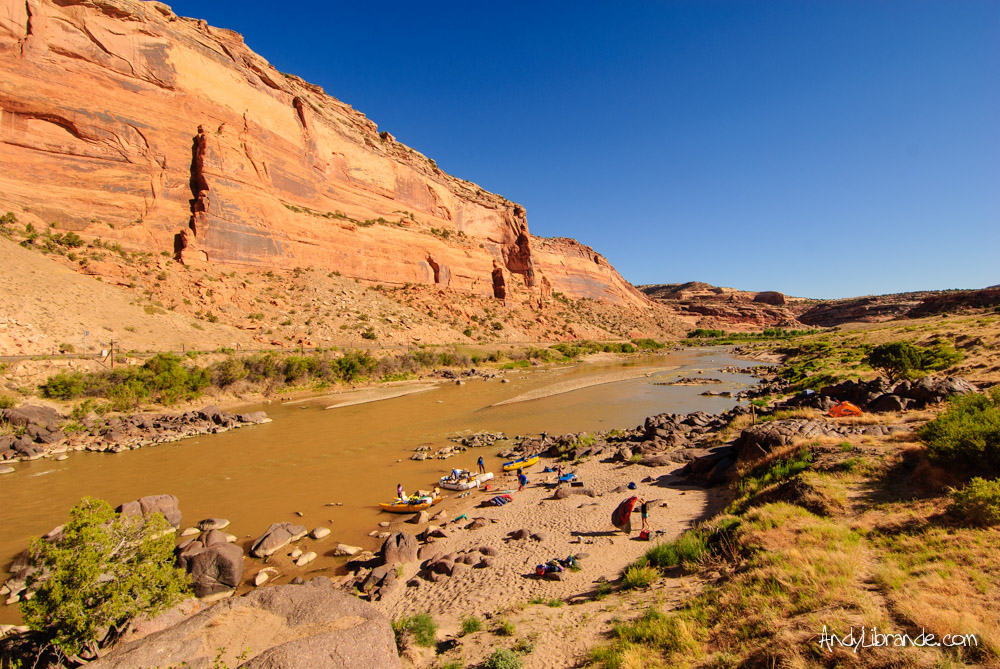 Black Rocks Campground Colorado River