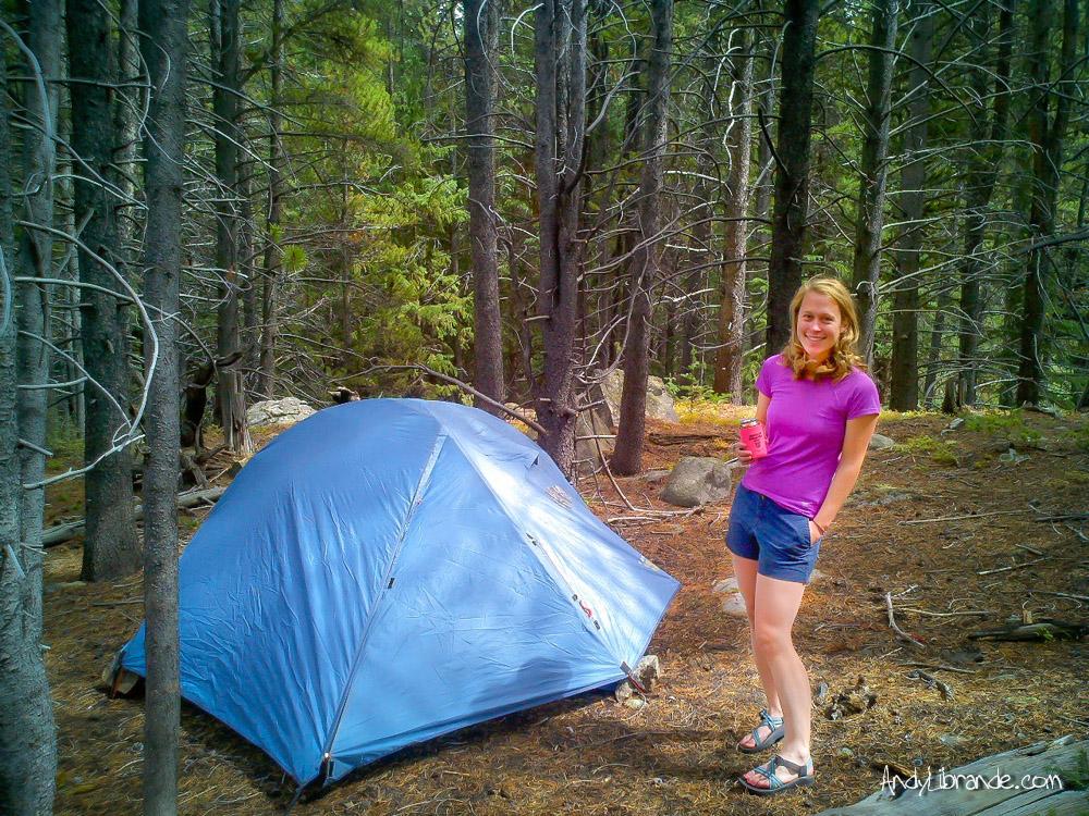 Spruce Creek Trailhead Camping Breckenridge