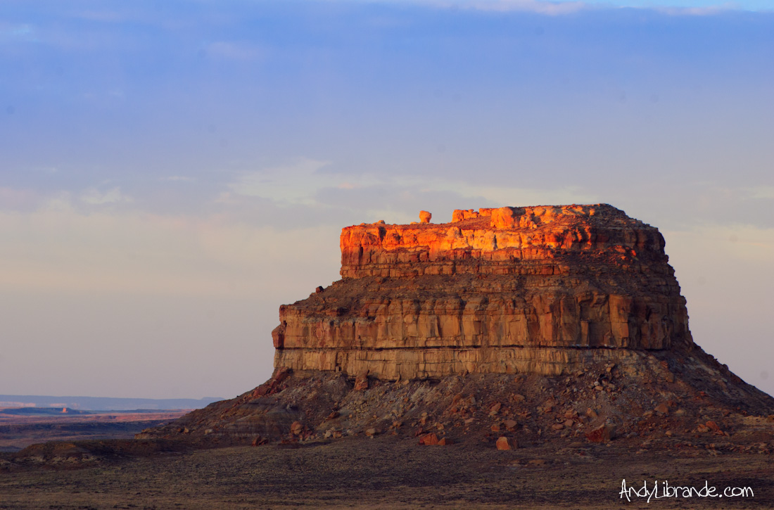 Fajeda Butte at Sunrise