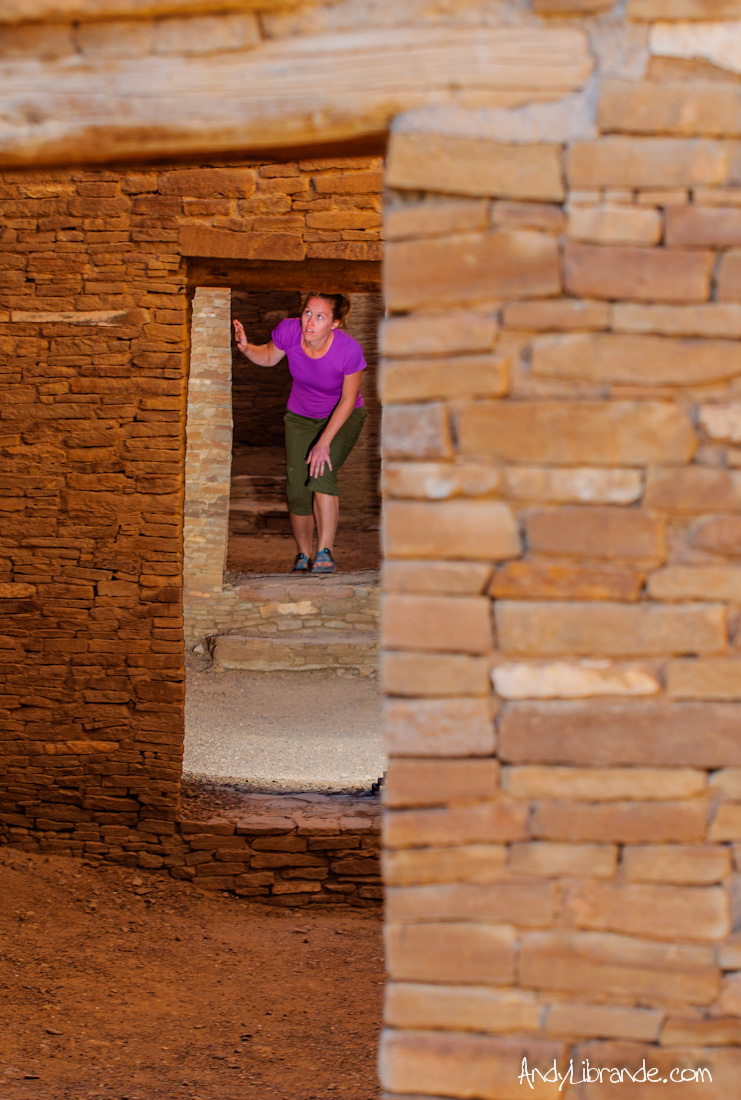 The Famous Hallways of Pueblo Bonito