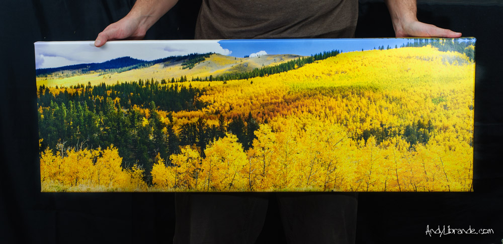 Kenosha Pass Canvas Print For Sale