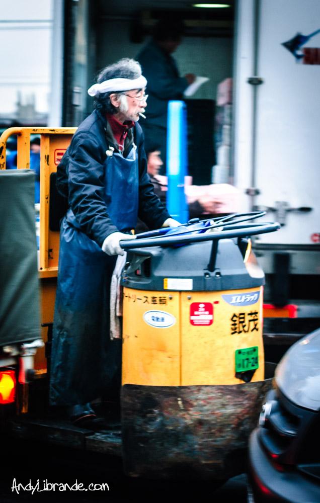 Tsukiji Cart Driver