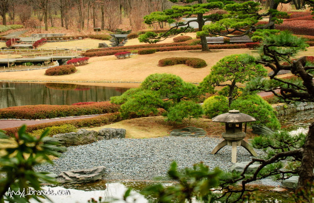 Tokyo Imperial East Gardens in Winter