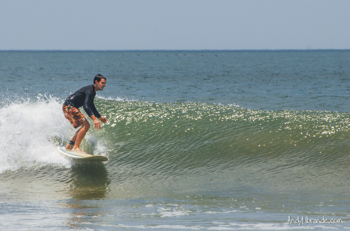 Gabe surfing in Tamarindo Costa Rica