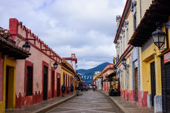The Colorful streets of San Cristobal de Las Casas