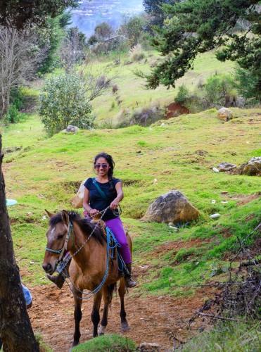 Horesback ride to San Juan Chamula