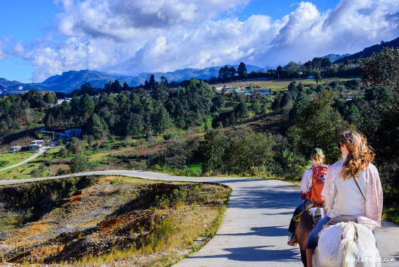 Horseback riding the Countryside of Chaipas