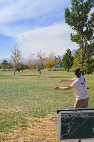 Las Vegas Disc Golf at Mountain Crest Park