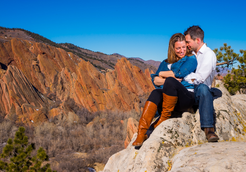 Roxborough State Park Engagement Shoot