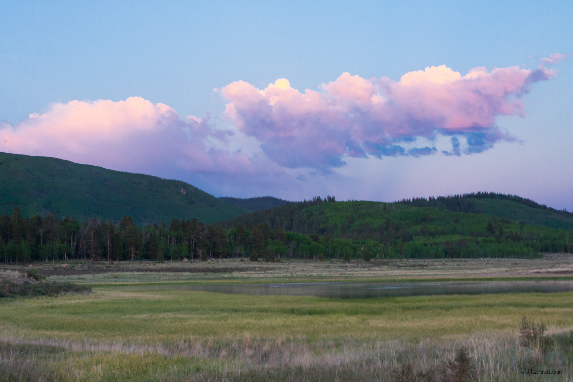 Kenosha Pass Summer Sunset