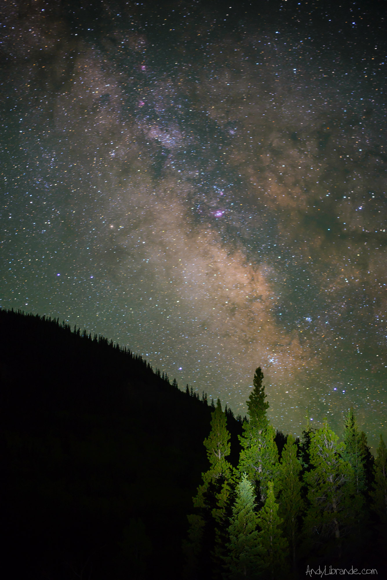 Milky Way near Mt Elbert