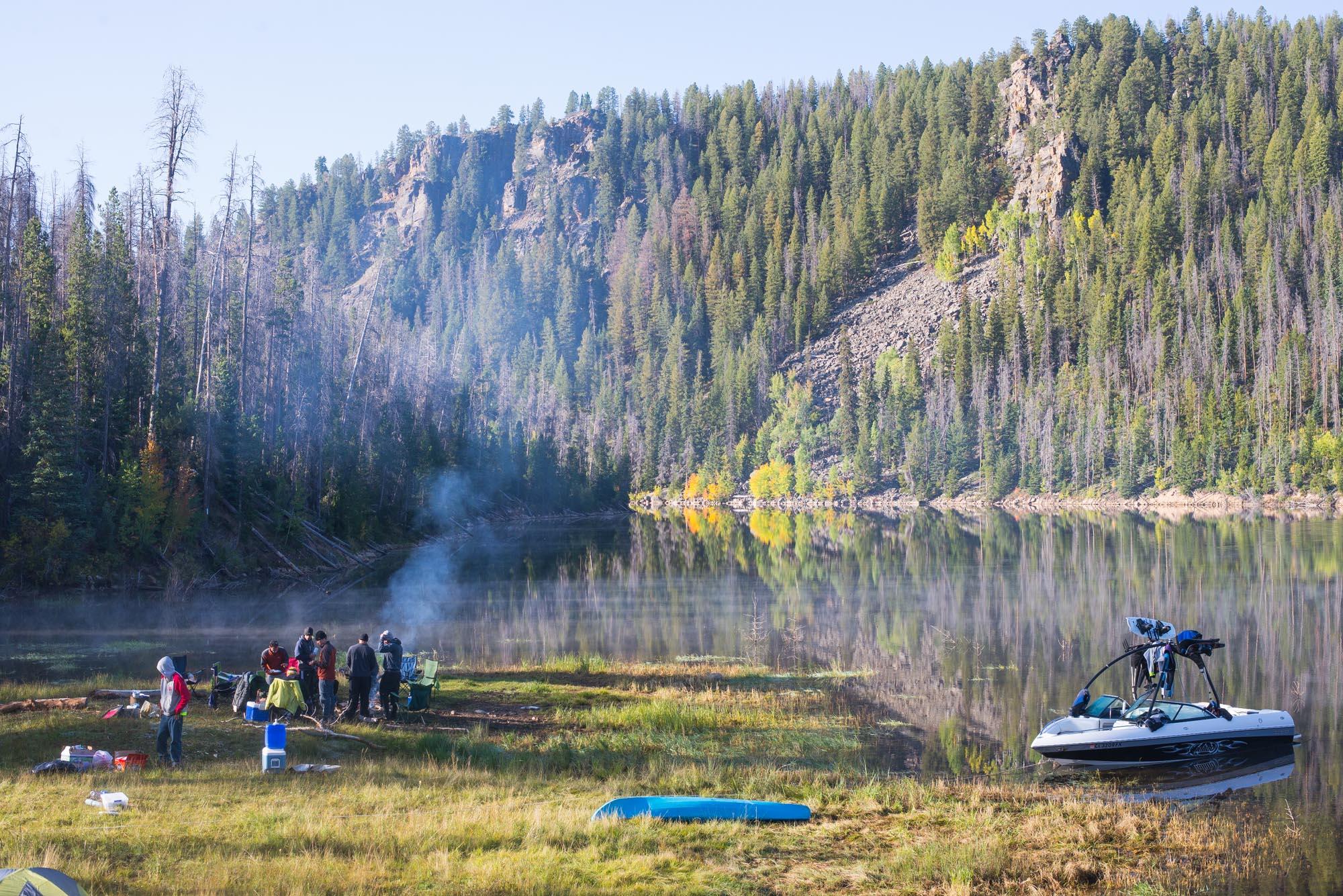Lake Camping at Lake Granby