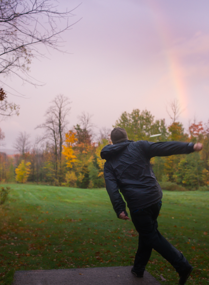Rainbow Disc Golf in Wisconsin