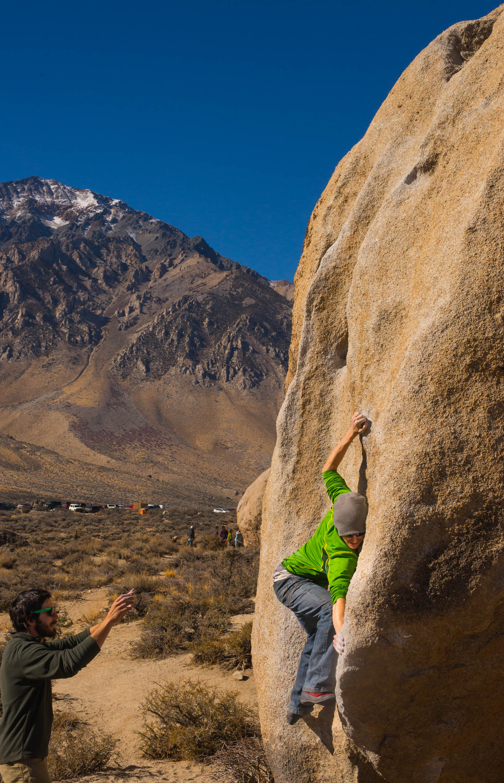 Buttermilk Stem in Bishop California