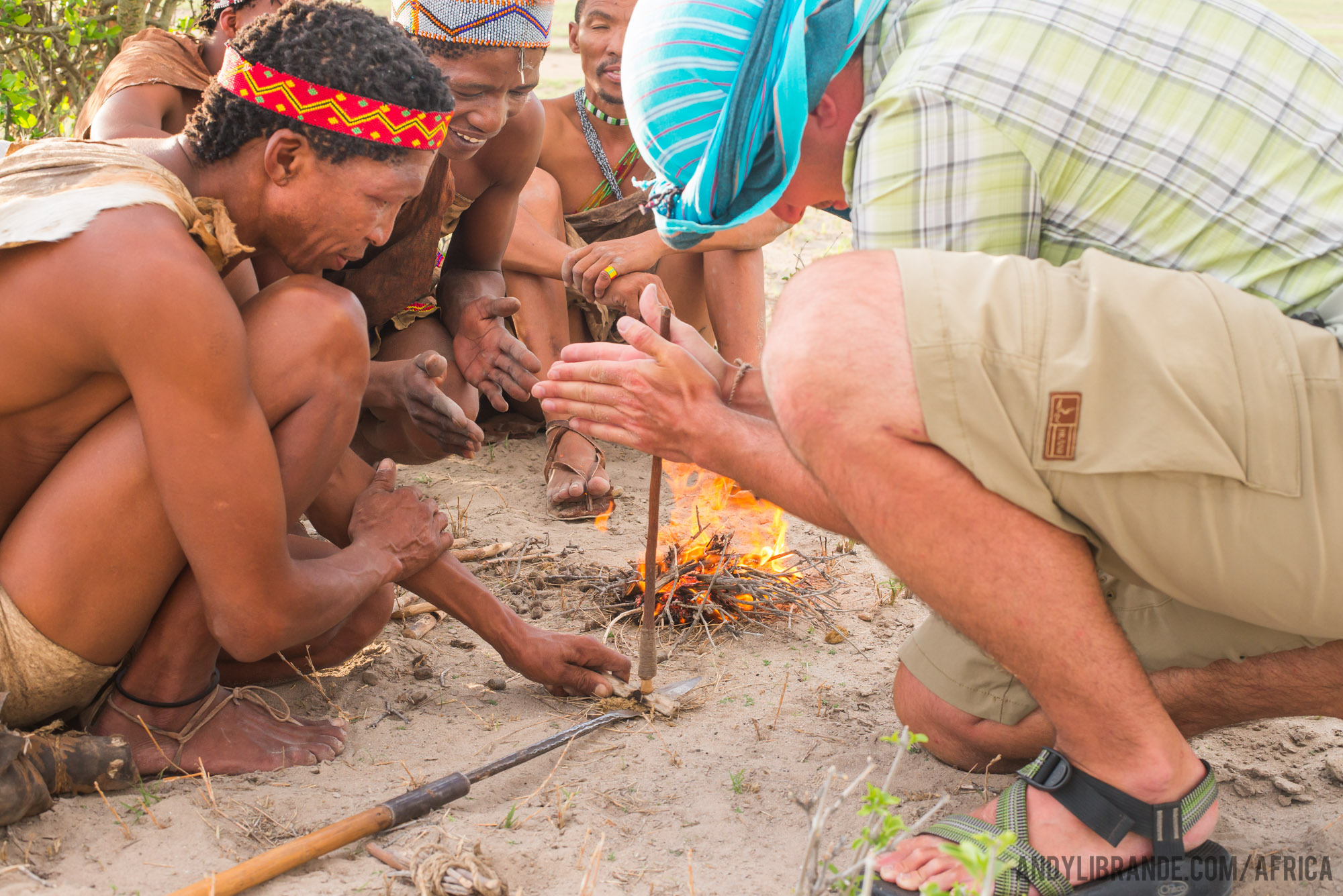 spindle fire starting with san bushman
