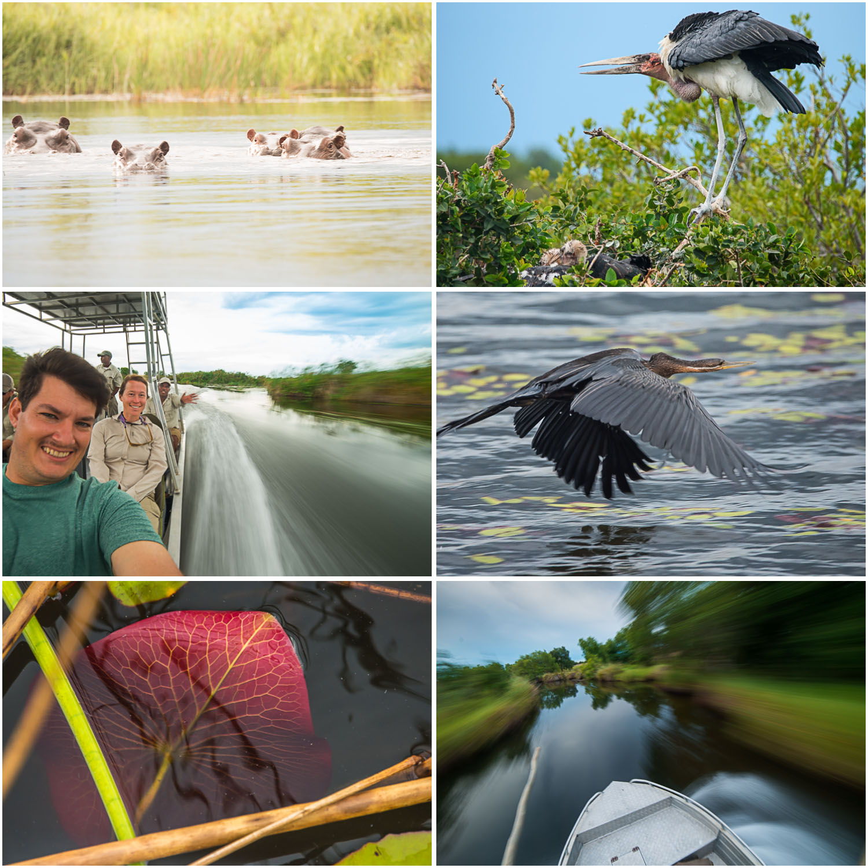 Dry season okavango boat-safari-okavango-kwando