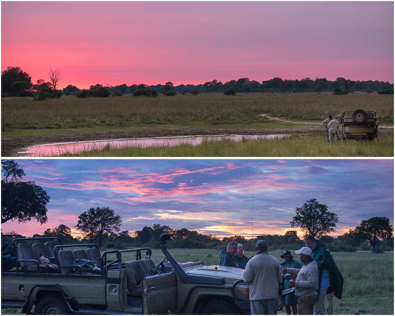 safari-sundowner-sunsets-drinks-botswana