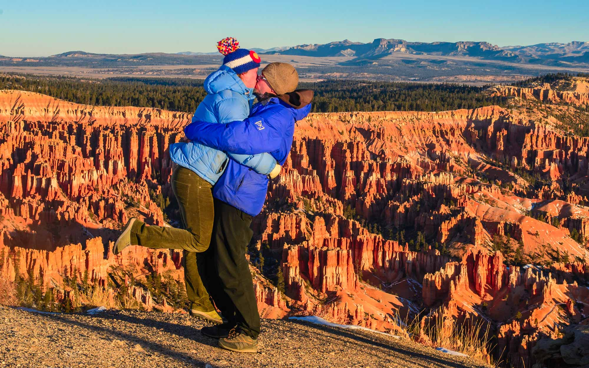 Engagement in Bryce Canyon National Park